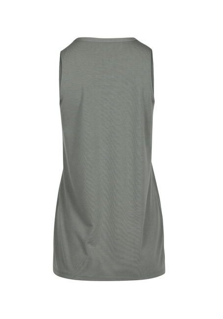 Ladies' Cage Neck Tank, SAGE LEAF, hi-res