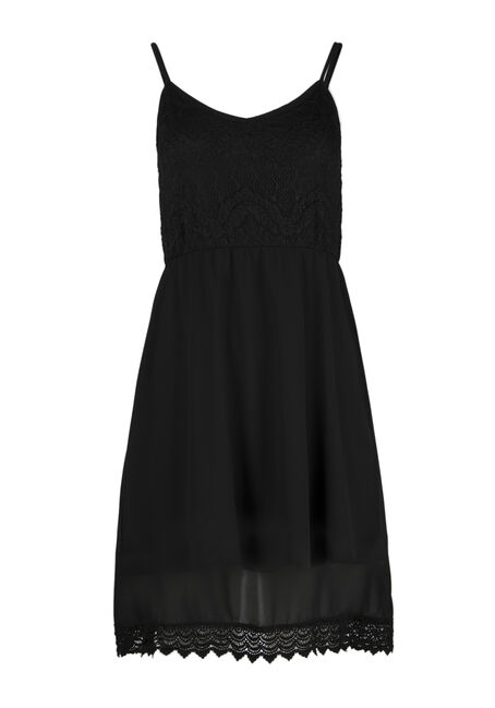 Ladies' Crochet Trim Strappy Dress
