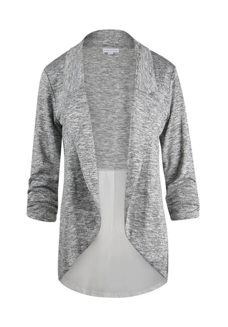 Ladies' Chiffon Insert Cardigan