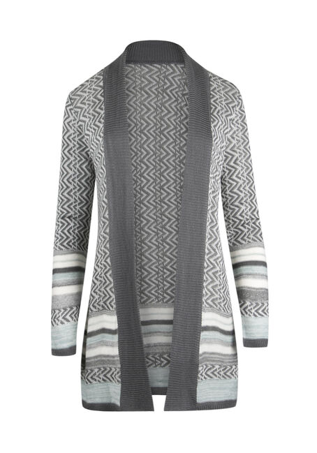 Ladies' Chevron Cardigan