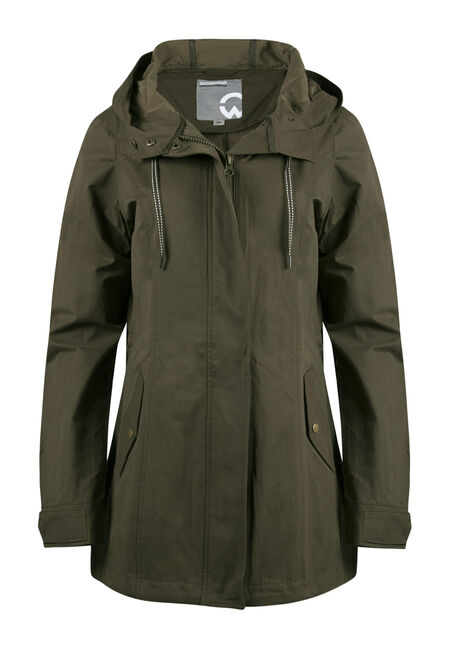 Ladies Hooded Anorak Jacket