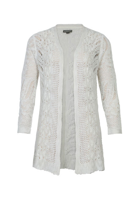 Ladies' Pointelle Cardigan