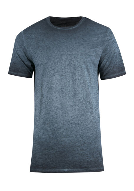 Men's Vintage Crew Neck Tee, BLUE, hi-res