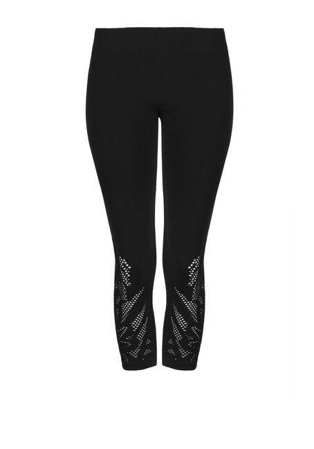 Ladies' Cut Out Capri Legging