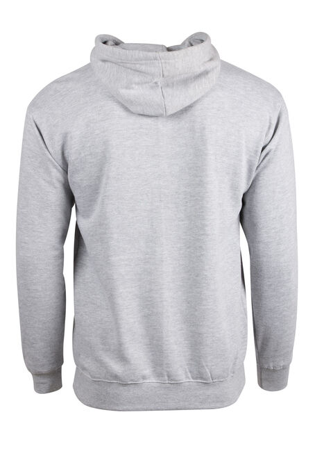 Men's Canadian Moose Hoodie, HEATHER GREY, hi-res