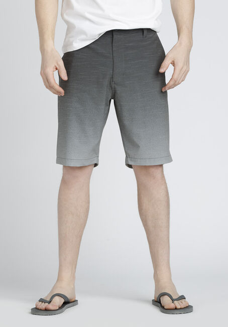 Men's Flat Front Hybrid Short