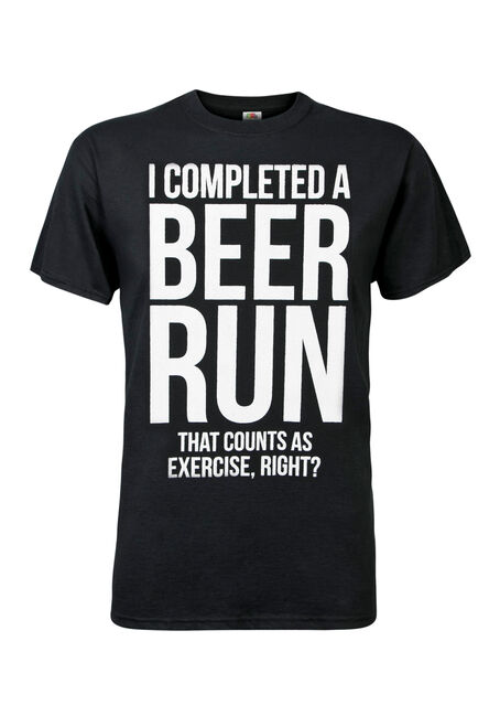 Men's Beer Runs Tee