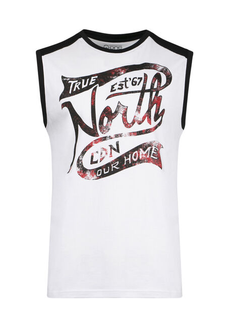 Men's True North Colour Block Tank