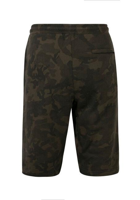 Men's Camo Knit Short, GREEN, hi-res