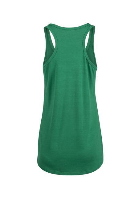 Ladies' 0% Irish 100% Drunk Tank, KELLY GREEN, hi-res