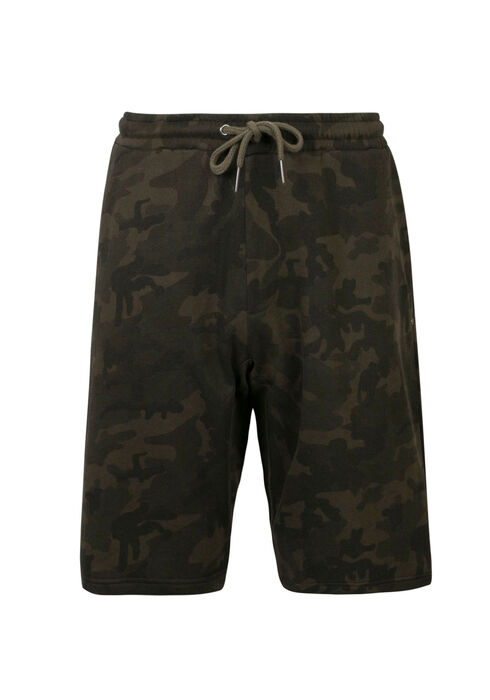 Men's Camo Knit Short, GREEN, hi-res