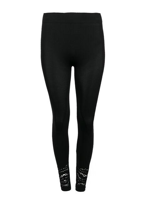 Ladies' Lace Trim Legging