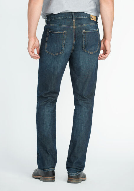 Men's Athletic Fit Jeans, DARK VINTAGE WASH, hi-res