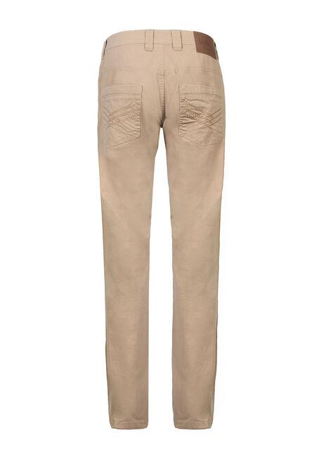 Men's Straight Leg Pants, KHAKI, hi-res