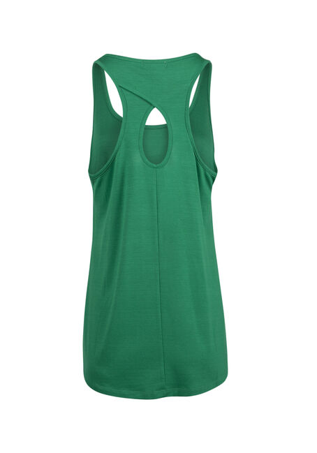 Ladies' Irish Today Keyhole Tank, KELLY GREEN, hi-res