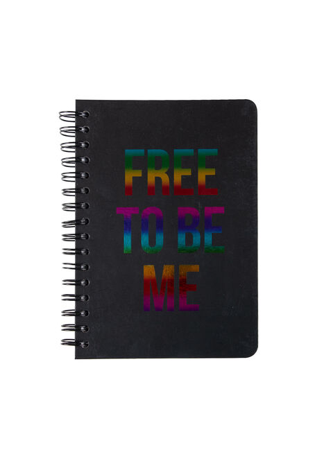 Free To Be Me Notebook