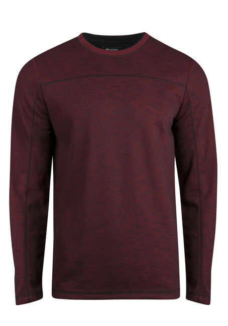 Men's Crew Neck Rib Knit Top