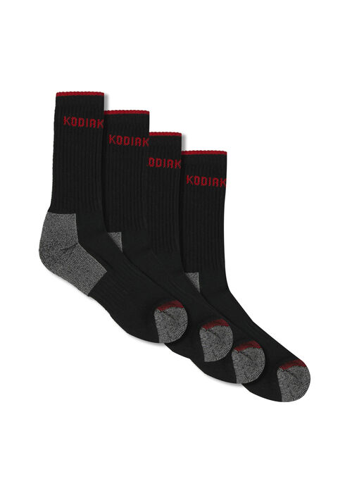 Men's 2 Pair Socks, BLACK, hi-res