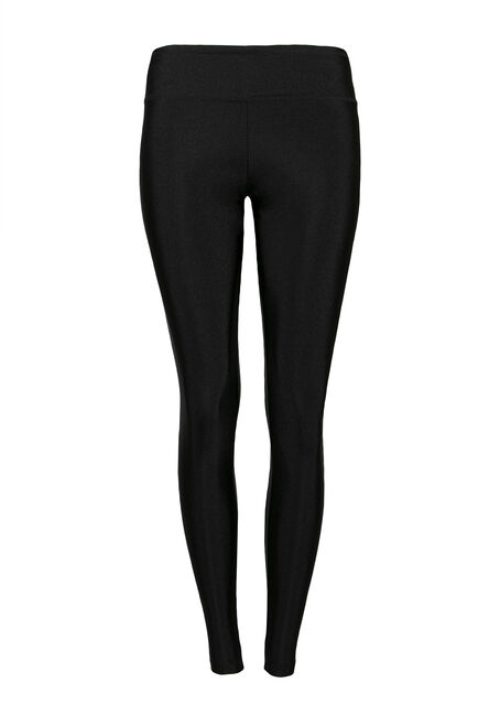 Ladies' High Waist Shiny Legging