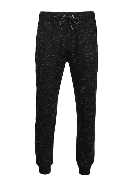 Men's Space Dye Jogger, BLACK, hi-res