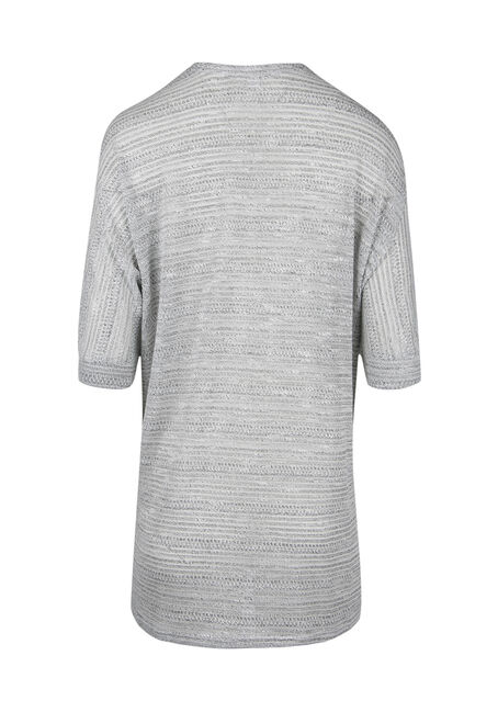 Ladies' Cocoon Cardigan, GREY, hi-res