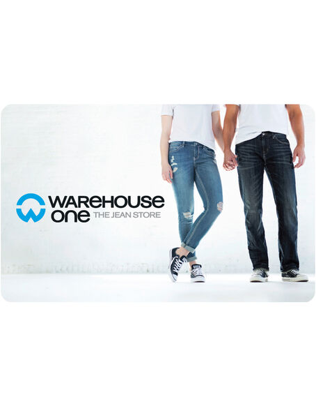 Warehouse One Gift Card