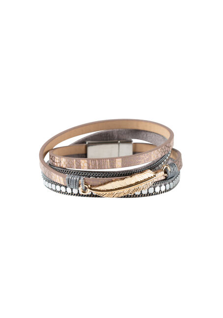 Ladies' Magenetic Wrap Bracelet