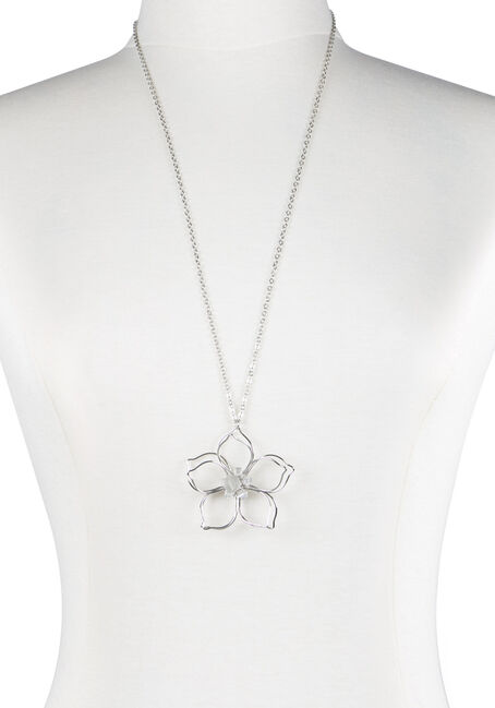 Ladies' Daisy Pendant Necklace