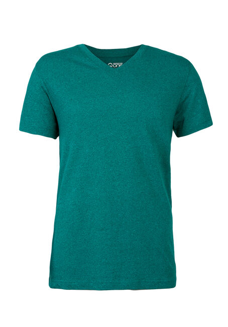 Men's V-Neck Flecked Tee