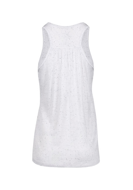 Ladies' Maple Leaf Tank, WHITE, hi-res