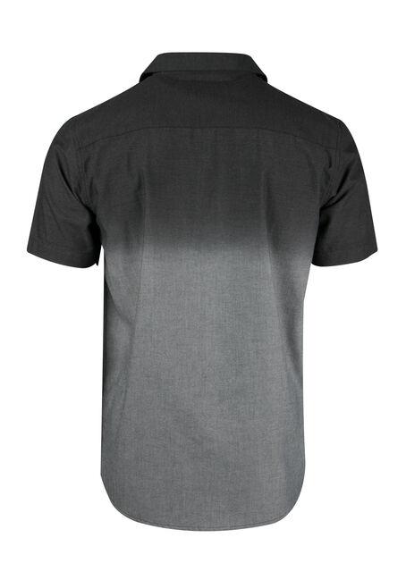 Men's Relaxed Dip Dye Shirt, CHARCOAL, hi-res