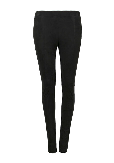 Ladies' Faux Suede Legging