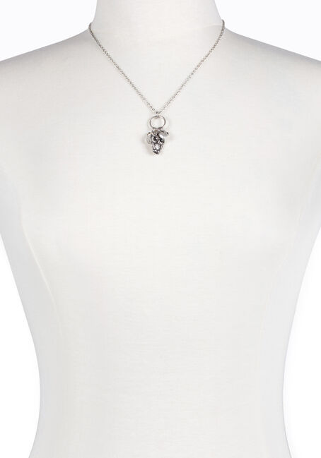 Ladies' Short Owl Charm Necklace
