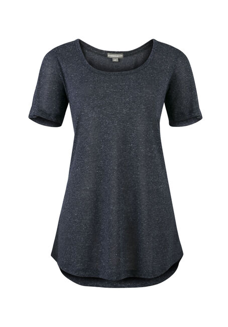 Ladies' Tunic Tee, INDIGO, hi-res