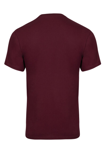 Men's Harry Potter Glasses Tee, MAROON, hi-res