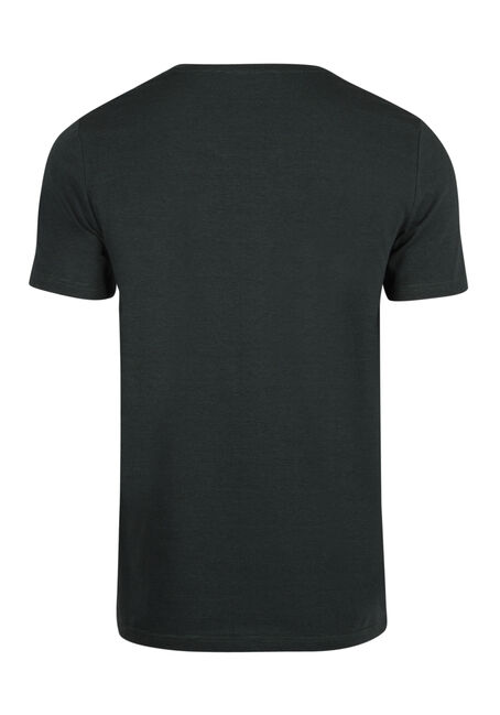 Men's Everyday Mini Stripe V-Neck Tee, PINE, hi-res
