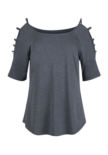 Ladies' Ladder Sleeve Tee
