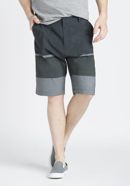 Men's Colour Block Hybrid Shorts