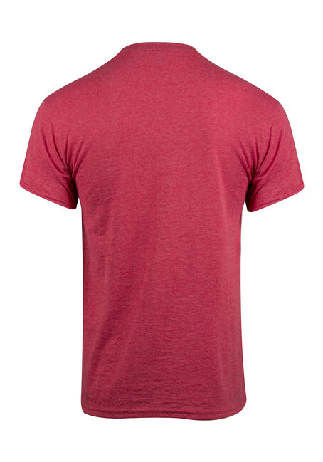 Men's Beer Hockey Tee, BRIGHT RED, hi-res