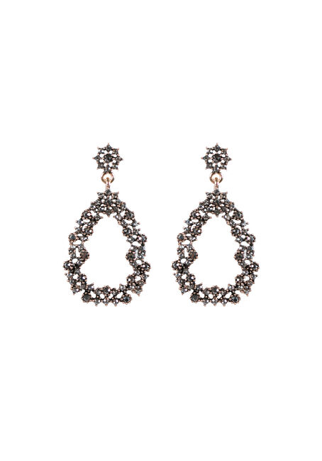 Ladies' Rhinestone Earring