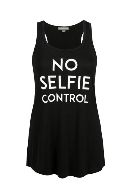 Ladies' No Selfie Control Tank