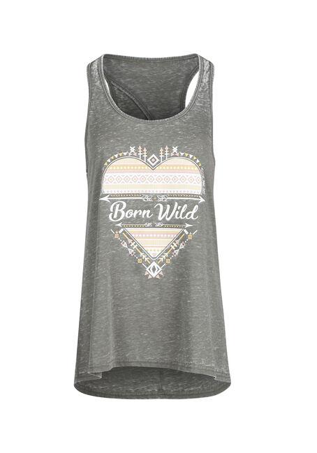 Ladies' Born Wild Keyhole Tank