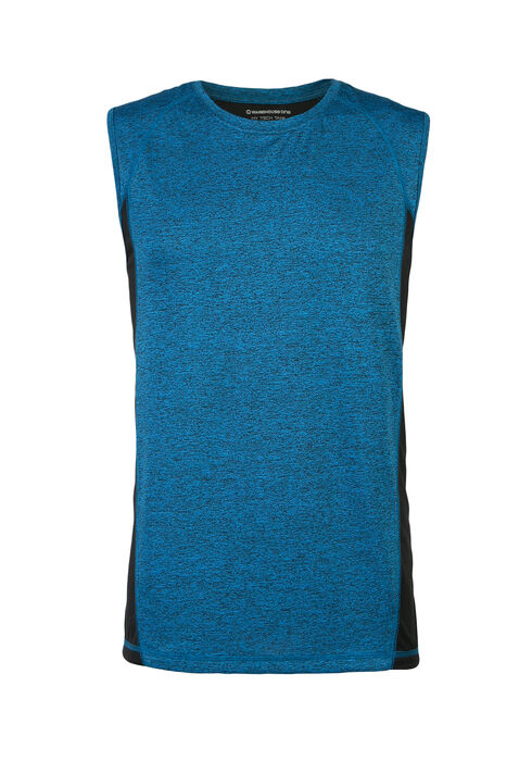 Men's Tech Tank, ROYAL BLUE, hi-res