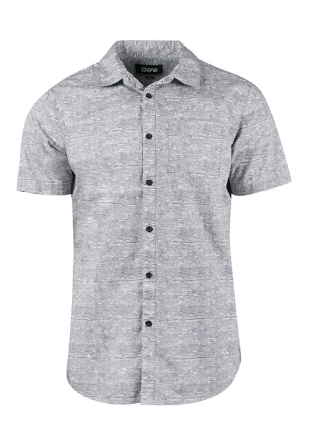 Men's Comfort Stretch Printed Shirt