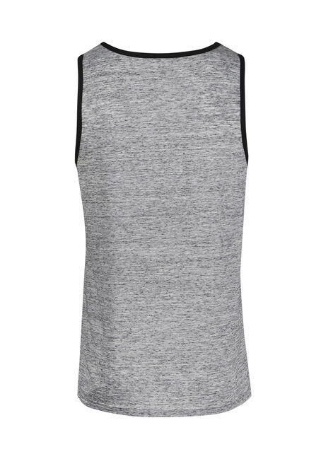Men's Everyday Pocket Tank, HEATHER GREY, hi-res