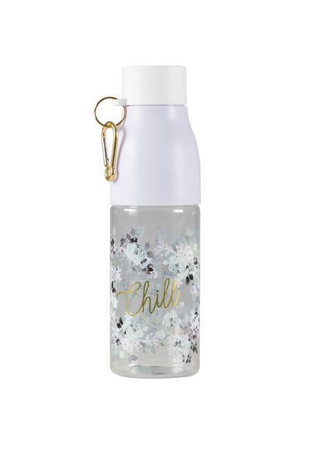 Floral Chill Bottle with Clip