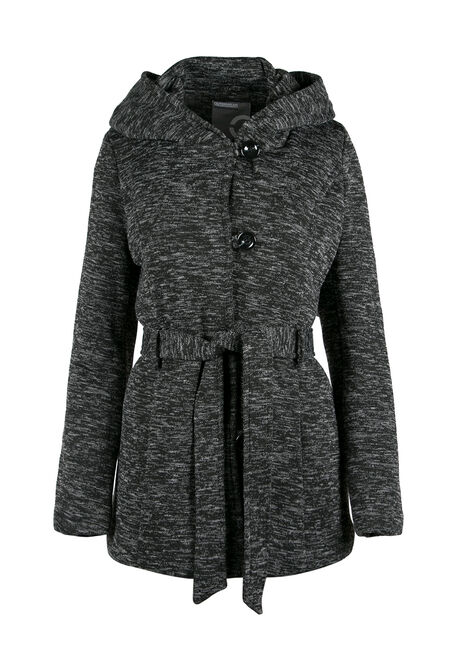 Ladies' Hooded Knit Jacket