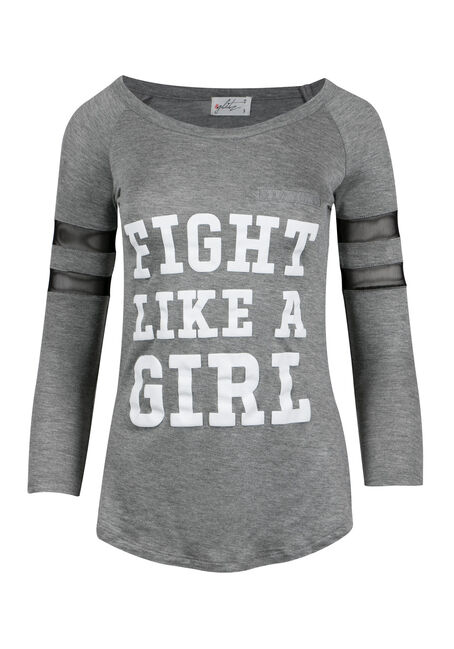 Ladies' Plus Size Fight Like a Girl Tee