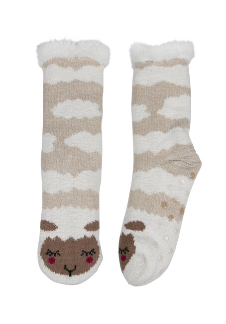 Ladies' Sheep Slipper Socks
