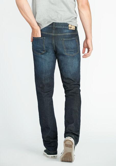 Men's Slim Fit Jeans, DARK VINTAGE WASH, hi-res